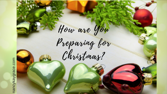 How are you preparing for Christmas?
