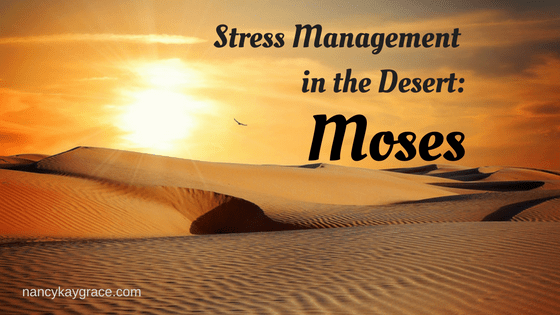 Stress Management in the Desert: Moses
