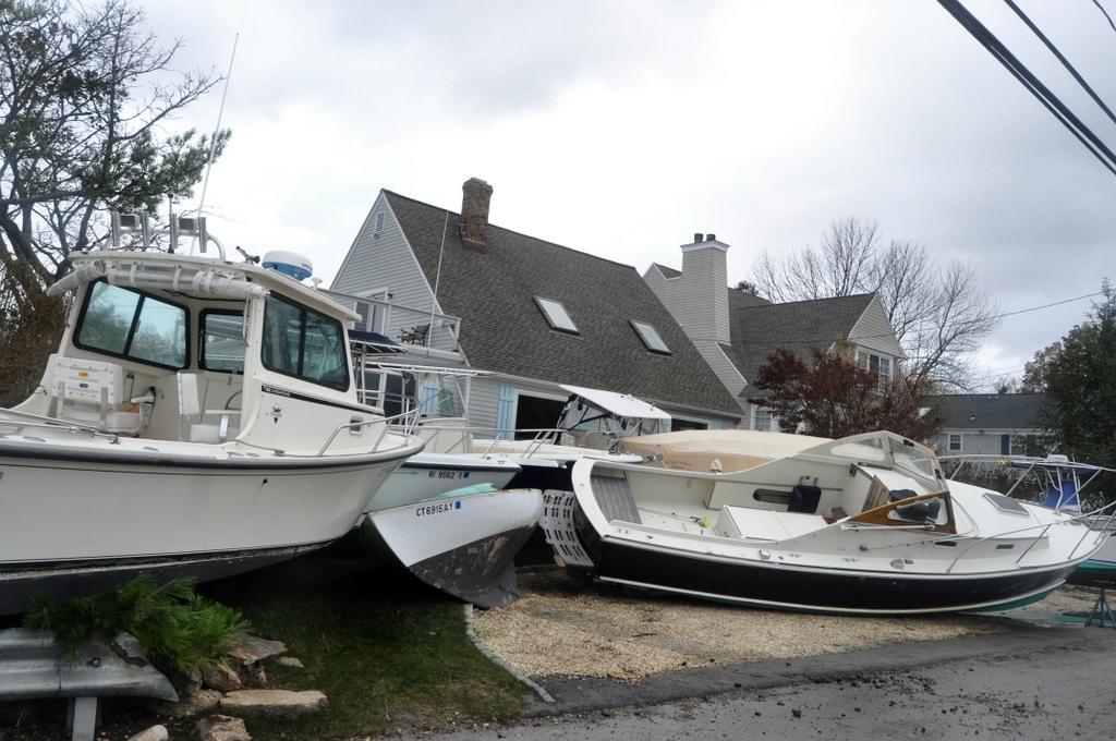 Hurricane Sandy Sends Rowayton Boats On Unexpected Trip Nancy On Norwalk
