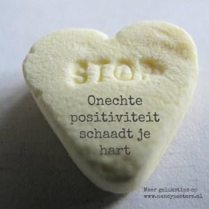 Stop Onoprechte positiviteit schaadt je hart