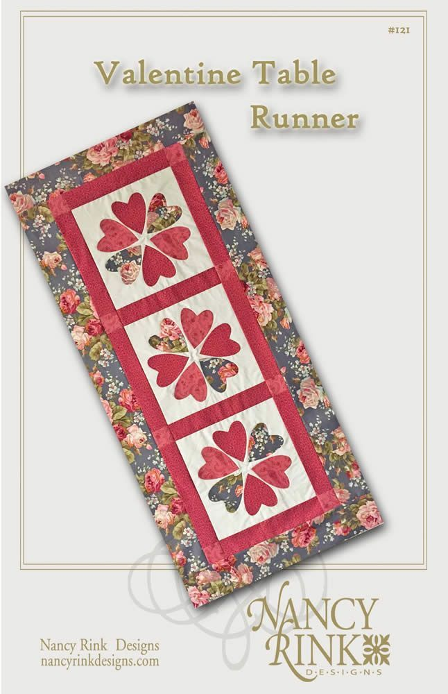 Free Valentine Quilted Table Runner Patterns