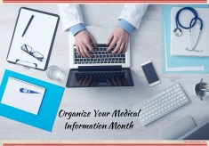 Organize Your Medical Information Month
