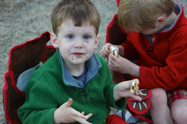 S'mores - a vital aspect of any camping trip
