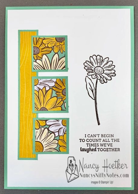Stampin' Up! Ornate Garden 6 x 6 One Sheet Wonder Cards 5