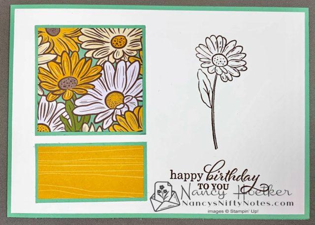 Stampin' Up! Ornate Garden 6 x 6 One Sheet Wonder Cards 6