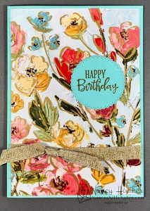 Fine Art Floral and Golden Garden Acetate Cards 1