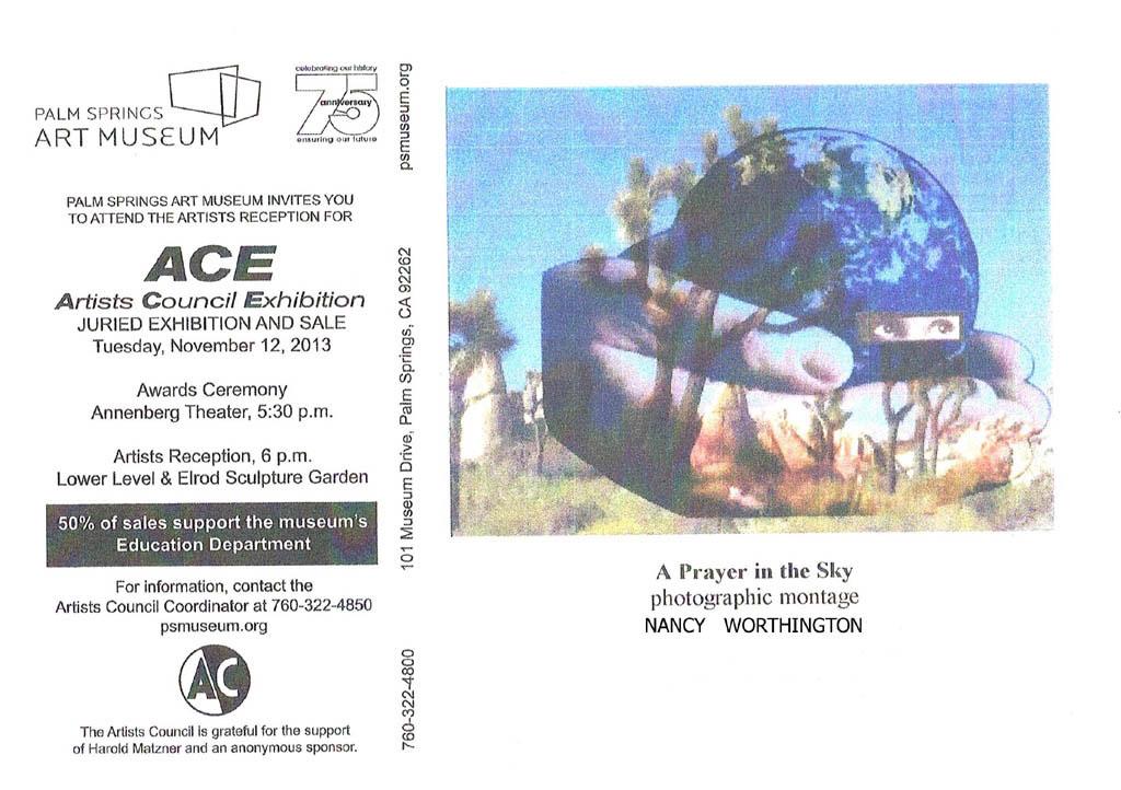 ACE Reception flyer