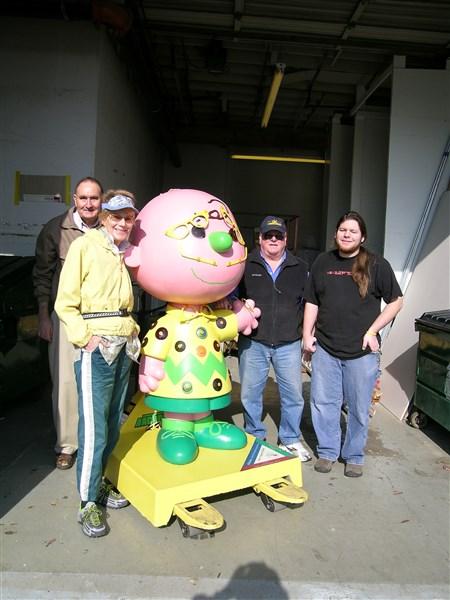 Charlie Brown Restoration–Bill Kruse, Nancy Worthington, Bruce Jonas