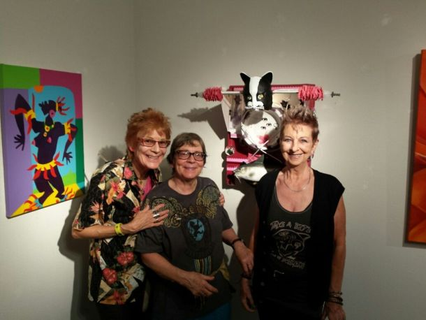 Nancy Worthington, Judith Fein and Shaktima