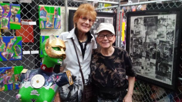 Catwoman, Nancy Worthington, and Judith Fein