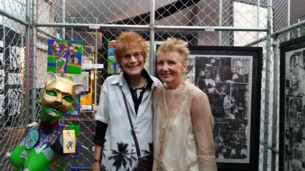 Nancy Worthington and Viga Dean