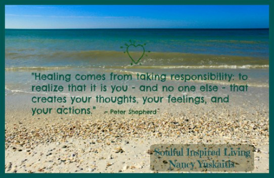 Anna Maria Beach Surf Healing Quote SIL