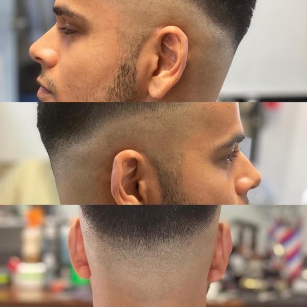 mens haircut Victoria BC