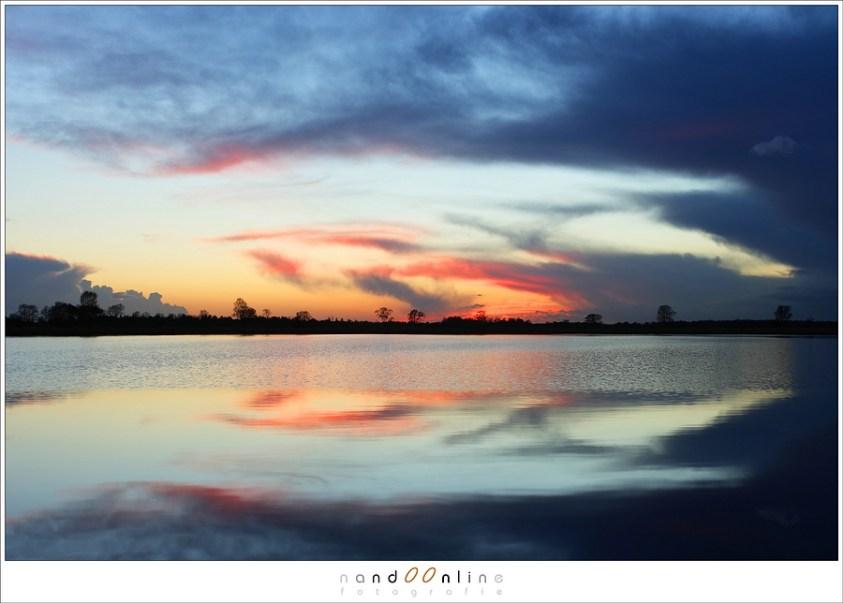 De schemering is vaak mooier dan de zonsondergang