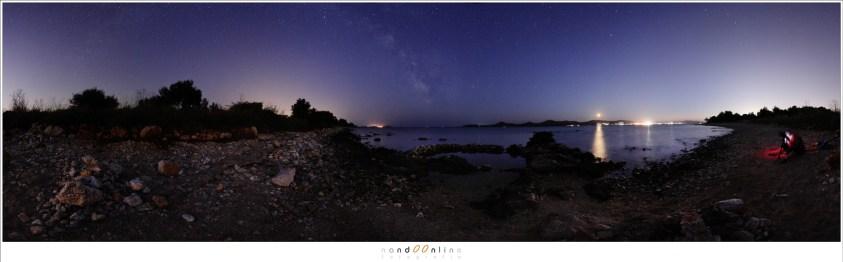 Het sterrenhemel panorama experiment