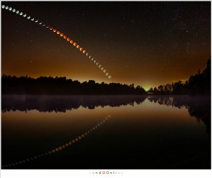 Lunar Eclipse Sequence - mijn populairste foto ooit.