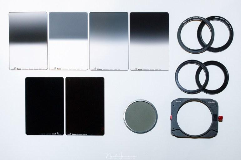 Het filter systeem van Kase.