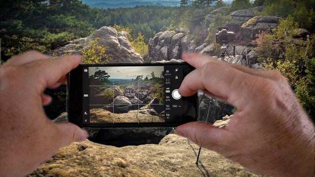 Lightroom Mobile voor het vastleggen van raw beelden met de smartphone.