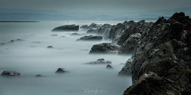 De rotsen van Cap Gris Nez