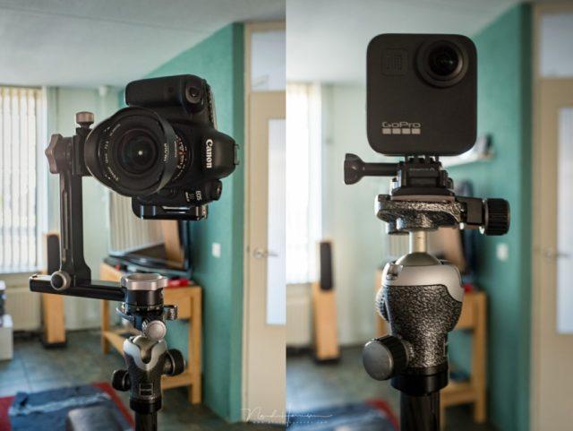 het verschil tussen een 360° camera en een panorama setup