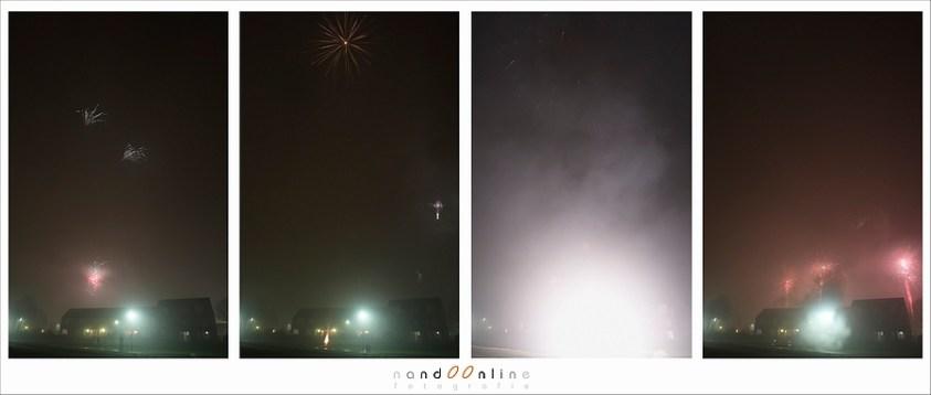 vuurwerk explosie