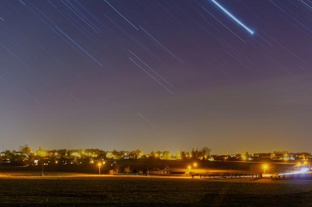 De mooiste sterrensporen van de afgelopen weken door Johan Derweduwen