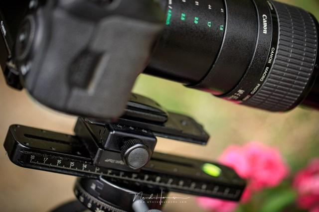 macro rail voor de Canon MP-E65