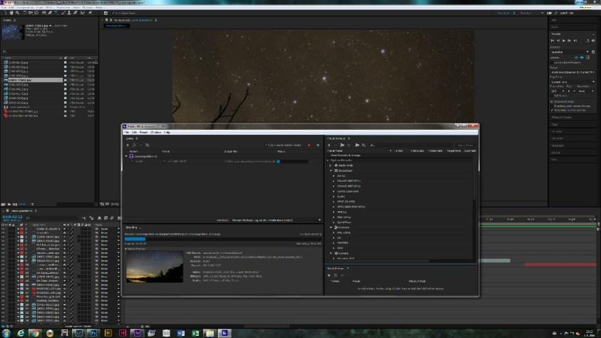 Ga zelf aan de slag met een timelapse - dit is in Adobe After Effects
