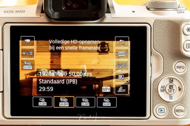 Elke camera heeft mogelijkheden om verschillende framerates in te stellen. Je moet er naar streven om je timelapse ook in die framerates te gaan afspelen.