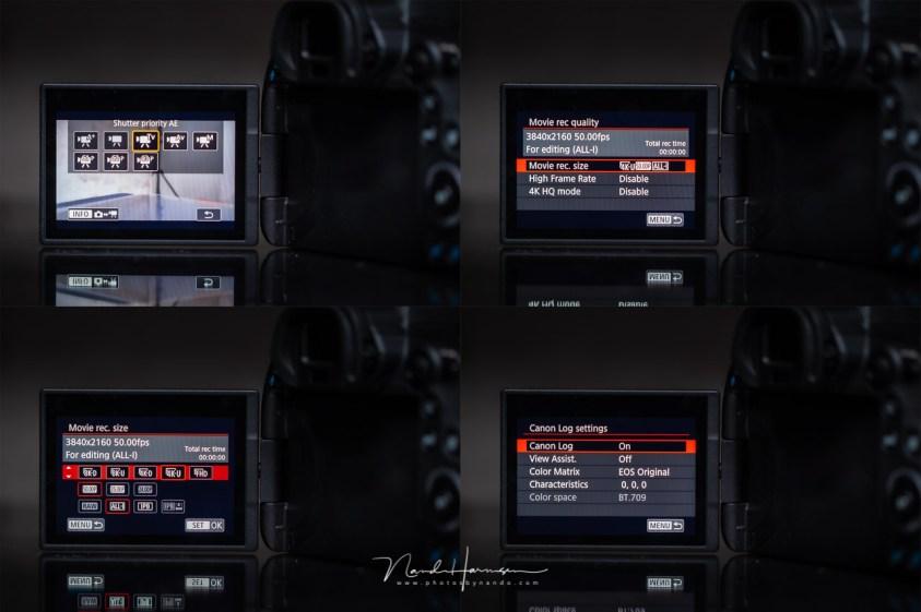 filmen met de Canon EOS R5