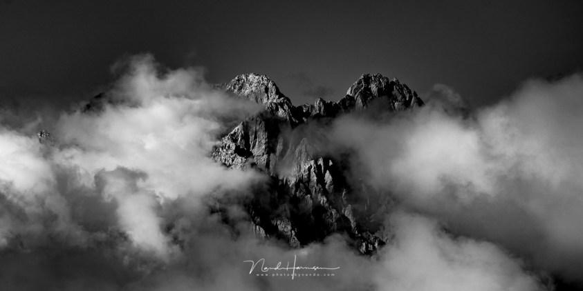 Landschappen fotograferen in zwartwit