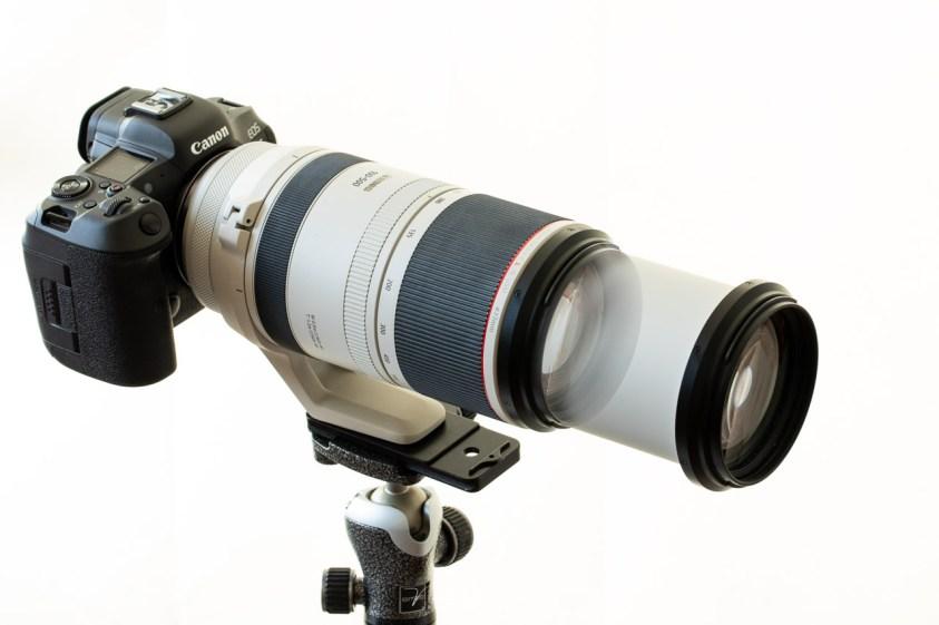 een review van de Canon RF 100-500L