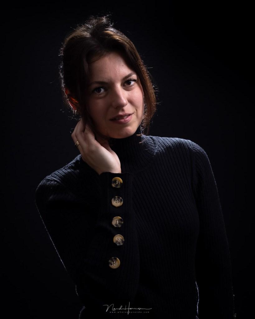 uit de serie portretten van Ilke