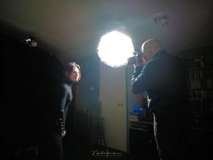 portretten van Ilke behind the scenes
