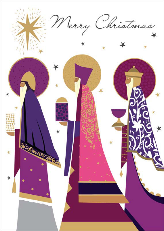 Tracks Publishing Ltd Three Kings Christmas Card