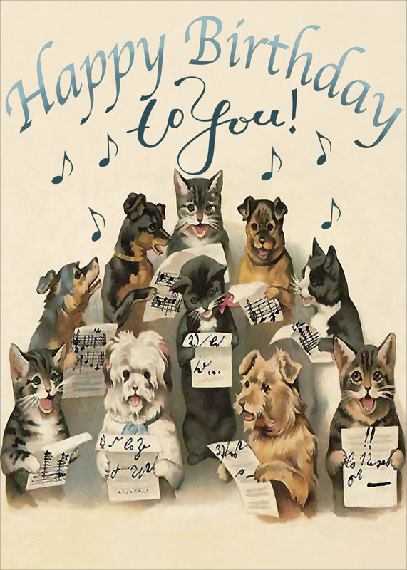 Dog And Cat Birthday Images