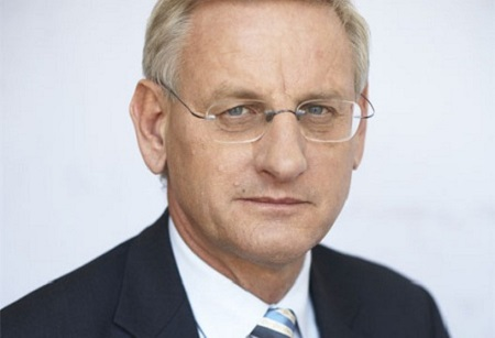 Foreign Minister Bildt Photo: Swedish Government