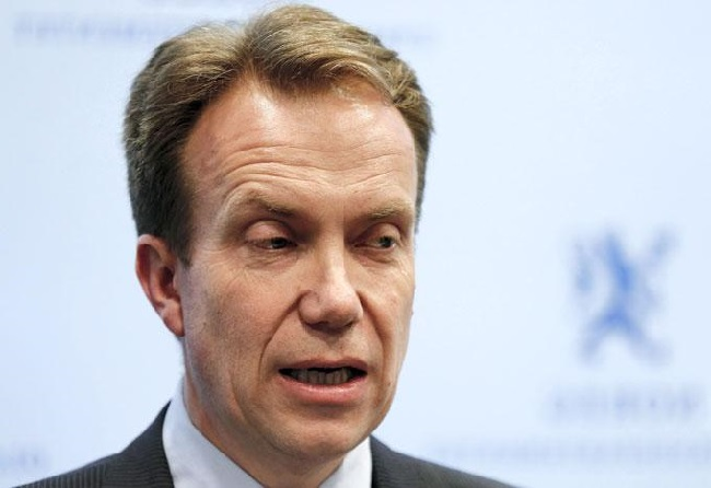 Norway's Foreign Minister Borge Brende