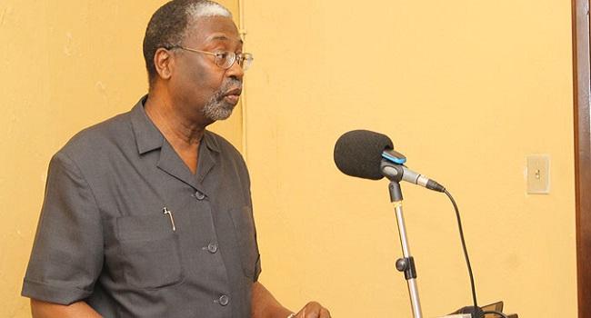 Liberia's Central Bank Governor Dr. Jones