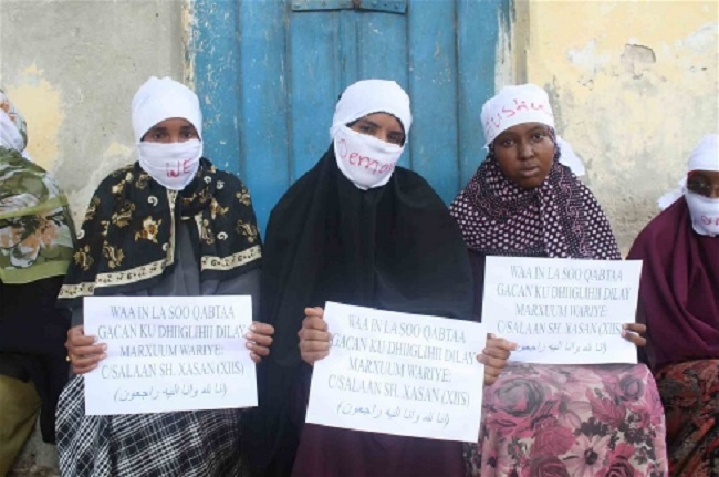 We want justice: colleagues of journalist Abdisalan Sheikh Hassan, who was shot dead in 2011, want his killer to be brought to book