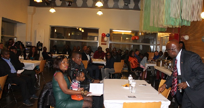 Liberians from all over the region were in attendance