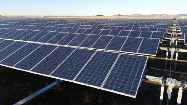 Linde solar power plant-South Africa