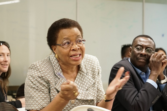 ALU Chancellor Graca Machel