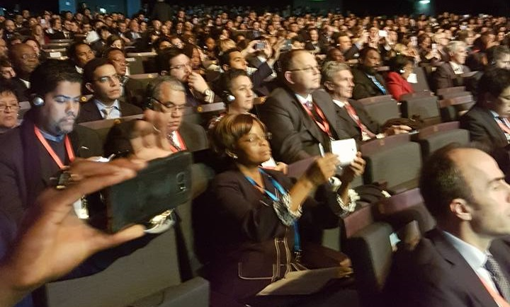 Over 3000 people from 70 countries are attending the summit