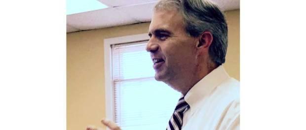 PSC Brandon Presley at Union Co. Supervisors meeting