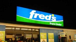 Fred's sign