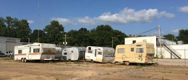 old travel trailers