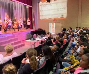 New Albany MS NAES plays with symphony