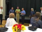 New Albany, MS BNA Bank officers honored for support of Union County Historical Society