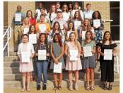 New Albany, MS 2019 National Honor Society inductees